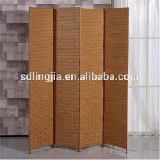Cardboard Room Dividers by Interior Decorative Rattan Room Divider Folding Wood Privacy