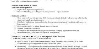 line cook job description template cooking job description job