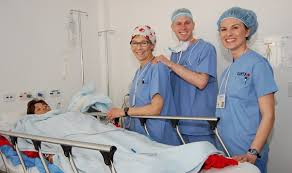 recovery room nurse surgical teams get to work in the operating rooms