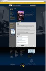 alumni website software fiu business website design by go media