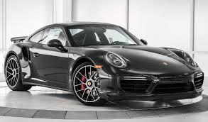 porsche black 2017 2017 porsche 911 turbo for sale