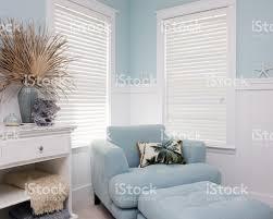 shabby chic interior decor of beach house stock photo 109726327