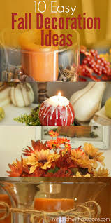 10 easy fall decoration ideasliving rich with coupons