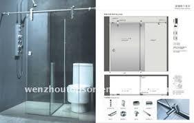 Shower Door Screen Sliding Shower Screen Shower Door Wat Partition Door View