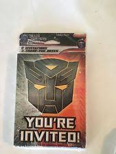 transformers birthday child party supplies ebay