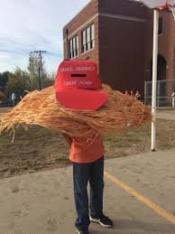 good 10 year old halloween costumes 10 year old dresses as donald trump u0027s hair for halloween the