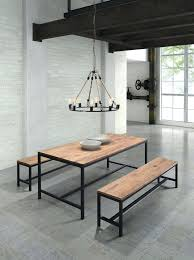 wooden dining table and bench u2013 mitventures co