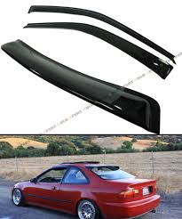 jdm oem lexus window visors jdm rear window visor ebay