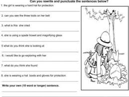 punctuation worksheets free worksheets library download and