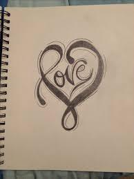 gallery easy drawings of love drawing art gallery