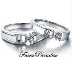 promise ring sets promise ring set etsy