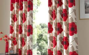 curtains beautiful white screen with red curtains white and red