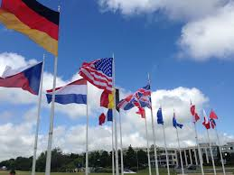 Flags Of All Nations Normandy Confused Americans Take France