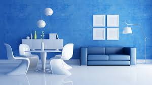 home interior wall pictures cozy blue leather sofa near stand pendant l and frame picture