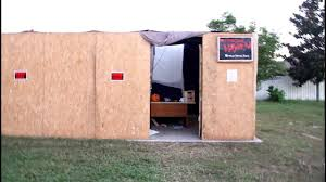 backyard haunted house ideas