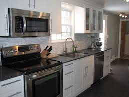 kitchen ideas white appliances wall color with grey cabinets gray kitchen wood floors kitchens