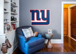 new york giants logo wall decal shop fathead for new york