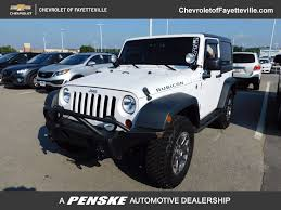 2013 used jeep wrangler 4wd 2dr rubicon at toyota of fayetteville