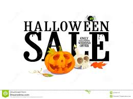 halloween sale offer design royalty free stock images image