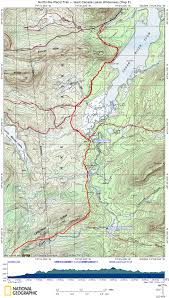 Lake Placid New York Map by Npt West Canada Lakes Wilderness