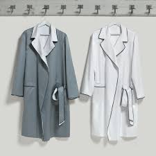 bathrobes cut and sewn by hand like fine dresses quagliotti