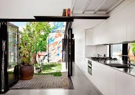 cuisine boheme chic décoration bohème cuisine éaire et cour intérieure alfred house