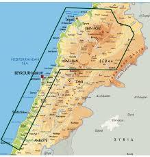 Map Of Lebanon Filling The Gap Executive Magazine