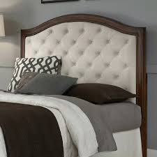 home design clubmona elegant wood framed upholstered headboard