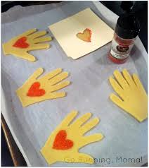 gifts from the heart helping hands heart cookies a great edible gift using your