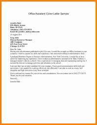 100 cover letter sample for office assistant cover letter