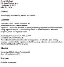 Librarian Resume Examples by Example Librarian Resume Free Sample Library Thing