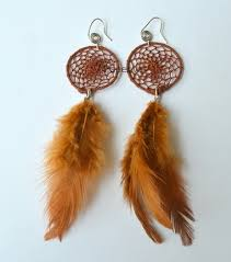 feather earings catcher feather earrings at rs 100 feather