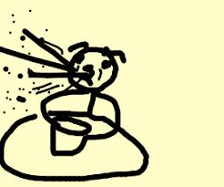 Spit Out Cereal Meme - cat