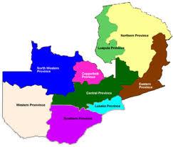 map of zambia zambian economist zambia elections 2011 constituency maps updated