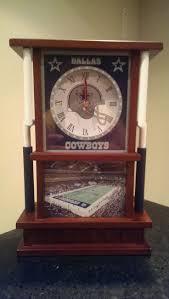 71 best dallas cowboy room images on pinterest cowboy room 2003 danbury mint limited edition dallas cowboys desk clock new in box
