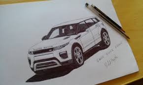 land rover discovery drawing desenhando range rover evoque drawing youtube