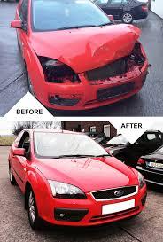wrecked car transparent garvey crash repairs insurance vehicle body repair experts