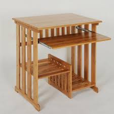 bureau en bambou naturel bureau meubles de maison solide bambou pc table bambou d
