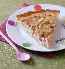 cuisine rhubarbe tarte à la rhubarbe et amandes les meilleures recettes de cuisine