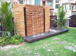 great garden wall water features 17 best ideas about wall water