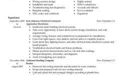electrician resume examples resume example and free resume maker