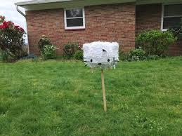 yard work temporary sanity
