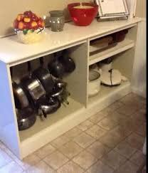 Kitchen Cabinet Pot Organizer Organizing Pots And Pans Ideas U0026 Solutions