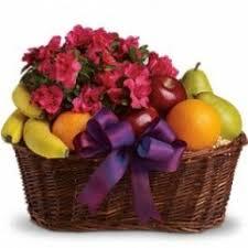 fruit flower baskets fruit and gourmet baskets the flower patch ville platte la 70586