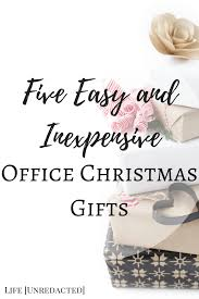 5 easy and inexpensive office christmas gifts life unredacted