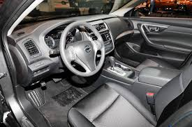 nissan altima coupe with red interior for sale nissan brings special midnight edition package to six models