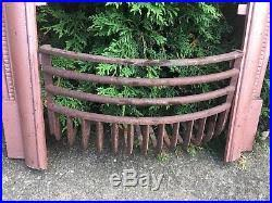 Fireplace Grate Cast Iron by Victorian Ornate Cast Iron Fireplace Grate Antique Architecture Garden