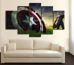 5 pieces modern wall art canvas u2013 bteeful