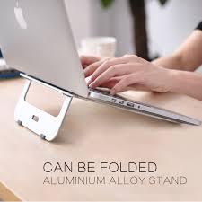 mac laptop holder for desk newest aluminum laptop stand tablet holder desk pad for