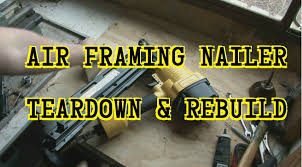 Central Pneumatic Framing Nail Gun by Air Framing Nail Gun Teardown And Repair Youtube